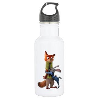 Zootopia | Judy & Nick - Suspect Apprehended! 532 Ml Water Bottle