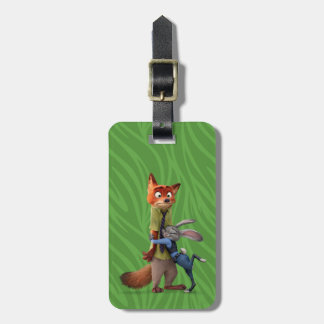 Zootopia | Judy & Nick - Suspect Apprehended! Luggage Tag