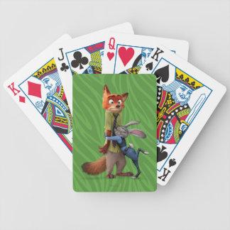 Zootopia | Judy & Nick - Suspect Apprehended! Poker Deck