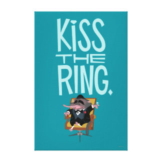 Zootopia | Kiss the Ring Canvas Print