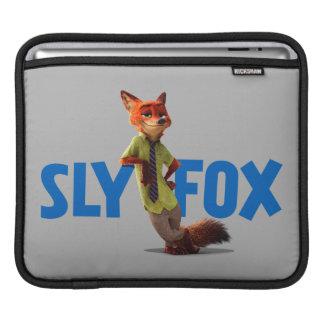 Zootopia | Nick Wilde - One Sly Fox iPad Sleeve