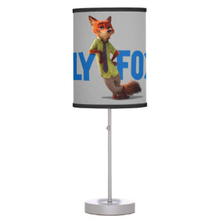 Zootopia   Nick Wilde - One Sly Fox Table Lamp