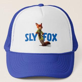 Zootopia | Nick Wilde - One Sly Fox Trucker Hat
