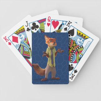 Zootopia | Nick Wilde Poker Deck