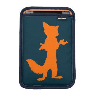 Zootopia | Nick Wilde Silhouette iPad Mini Sleeve