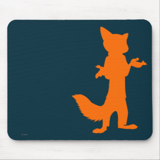Zootopia | Nick Wilde Silhouette Mouse Pad