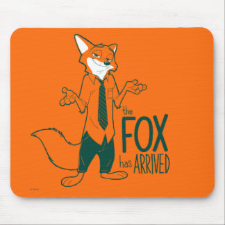 Zootopia | Nick Wilde - The Fox has Arrived Mouse Pad