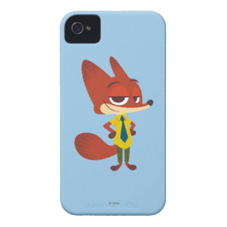 Zootopia | Nick Wilde - The Sly Fox iPhone 4 Case-Mate Case