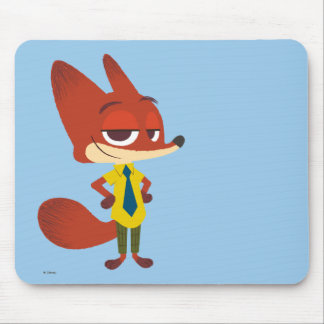Zootopia | Nick Wilde - The Sly Fox Mouse Pad