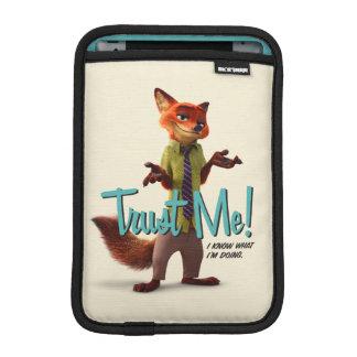 Zootopia | Nick Wilde - Trust Me! iPad Mini Sleeve