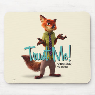 Zootopia | Nick Wilde - Trust Me! Mouse Pad