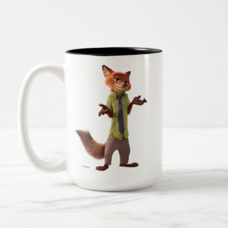 Zootopia | Nick Wilde Two-Tone Coffee Mug