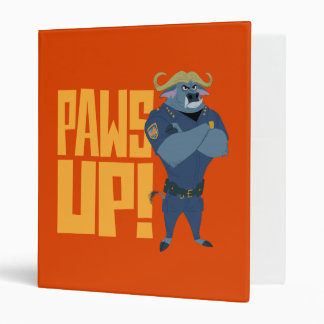 Zootopia | Paws Up! Vinyl Binder