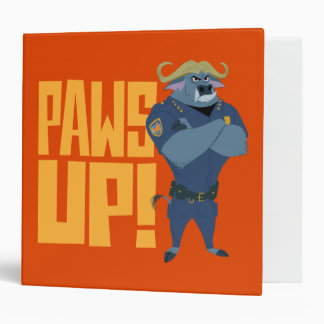 Zootopia | Paws Up! Vinyl Binders