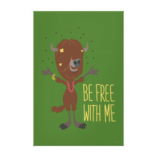 Zootopia | Yax - Be Free with Me Canvas Print