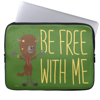 Zootopia | Yax - Be Free with Me Laptop Sleeve