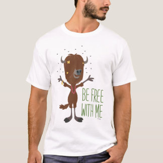 Zootopia   Yax - Be Free with Me T-Shirt