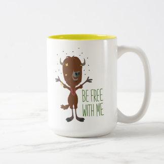 Zootopia | Yax - Be Free with Me Two-Tone Coffee Mug