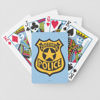 Zootopia | Zootopia Police Badge Bicycle Playing Cards