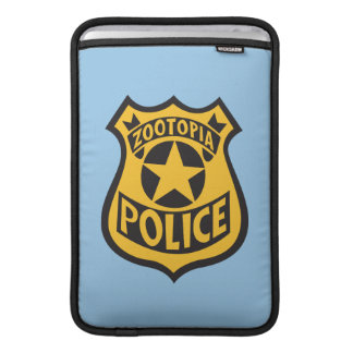 Zootopia | Zootopia Police Badge Sleeve For MacBook Air