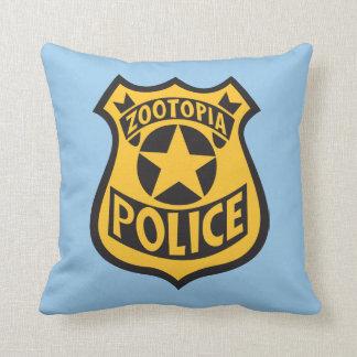 Zootopia | Zootopia Police Badge Throw Pillow
