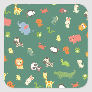 ZooZuu Square Sticker
