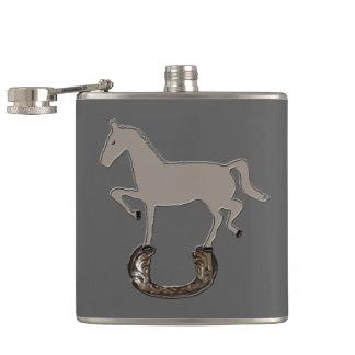 Zorba Horseshoe Hip Flask