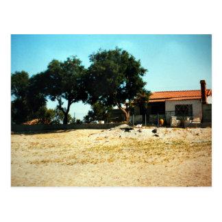 Zorba the Greek hausePhoto Colette Guggenheim Postcard