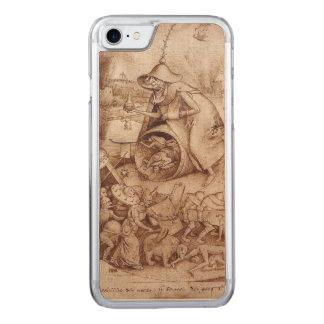 Zorn (Anger) by Pieter Bruegel the Elder Carved iPhone 7 Case