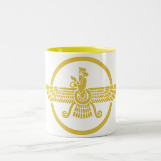 Zoroastrian Two-Tone Coffee Mug