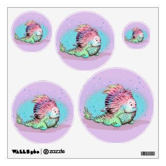 ZOU ALIEN WALL DECOR Circle Multiple 12 X 12