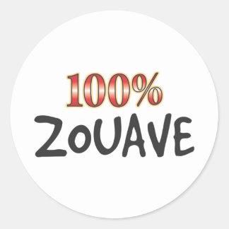 Zouave 100 Percent Stickers