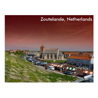 Zoutelande, Netherlands Postcard