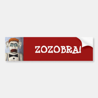 Zozobra Bumper Sticker