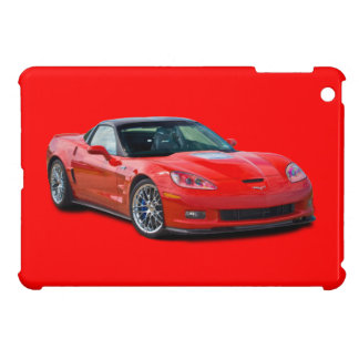 ZR1 Corvette Red iPad Mini Case
