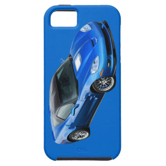 ZR1 Supersonic Blue Corvette IPhone 5 Case
