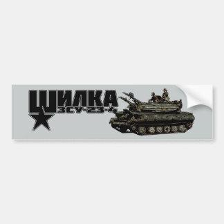 ZSU-23-4 Shilka Bumper Sticker
