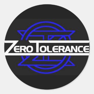 ZT blue sticker