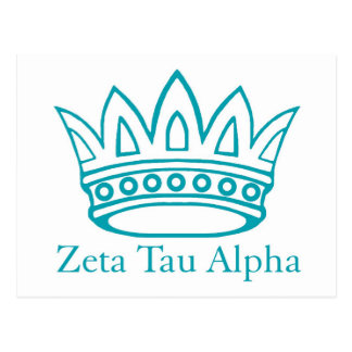 ZTA Crown with ZTA Postcard
