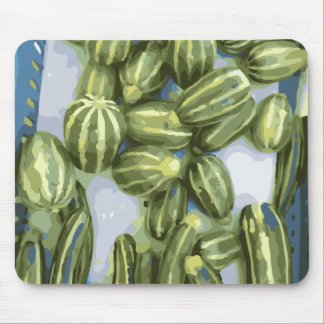 Zucchini and Winter Squash Harvest Mousepad