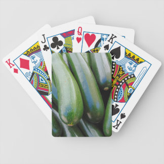 Zucchini Bicycle Playing Cards