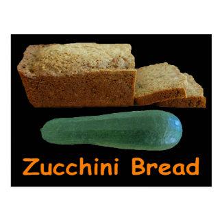 Zucchini Bread Postcard