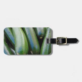 Zucchini Luggage Tag