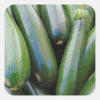 Zucchini Square Sticker
