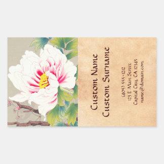 Zuigetsu Ikeda Pink Camellia japanese flower art Sticker
