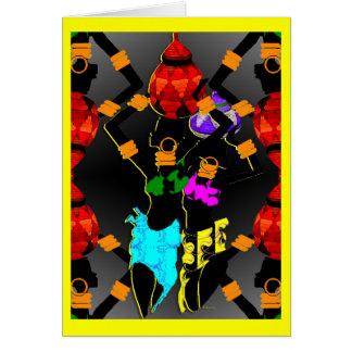 Zulu Baskets Card