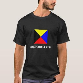 Zulu Flag (Z Flag) Dark-Colored Shirt