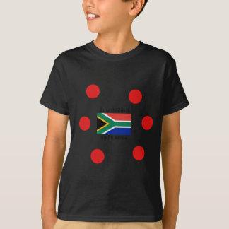 Zulu (isiZulu) Language And South Africa Flag T-Shirt