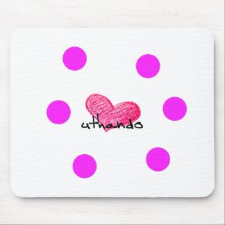 Zulu Language of Love Design Mouse Pad