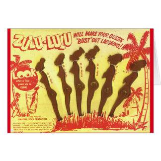 Zulu Lulu Black Americana Card